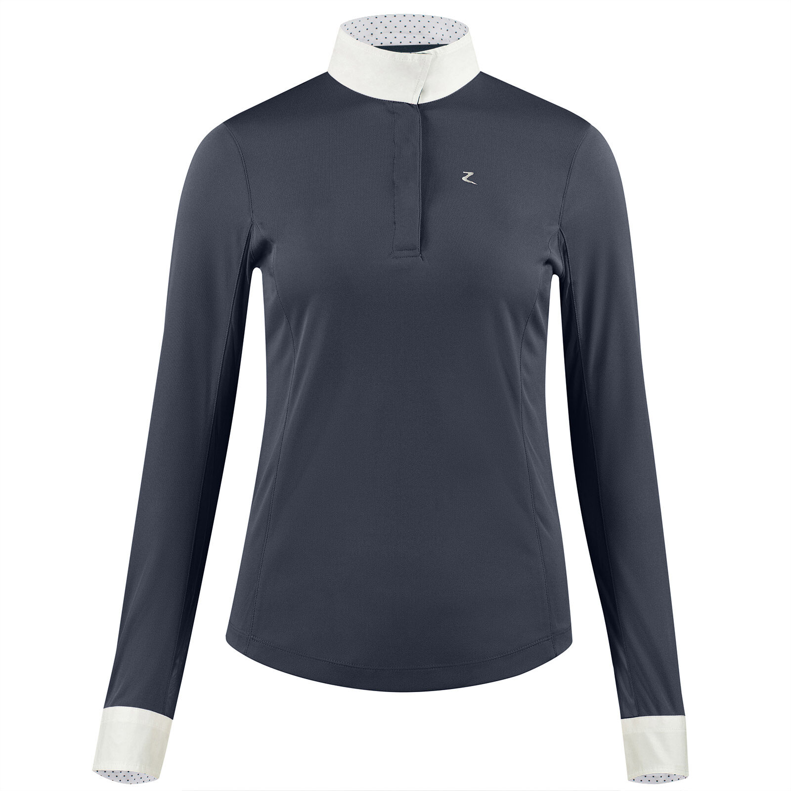 Requisite Damen Klassische Reitshirt Polo Shirt Polohemd Kurzarm Bequem Sitzend