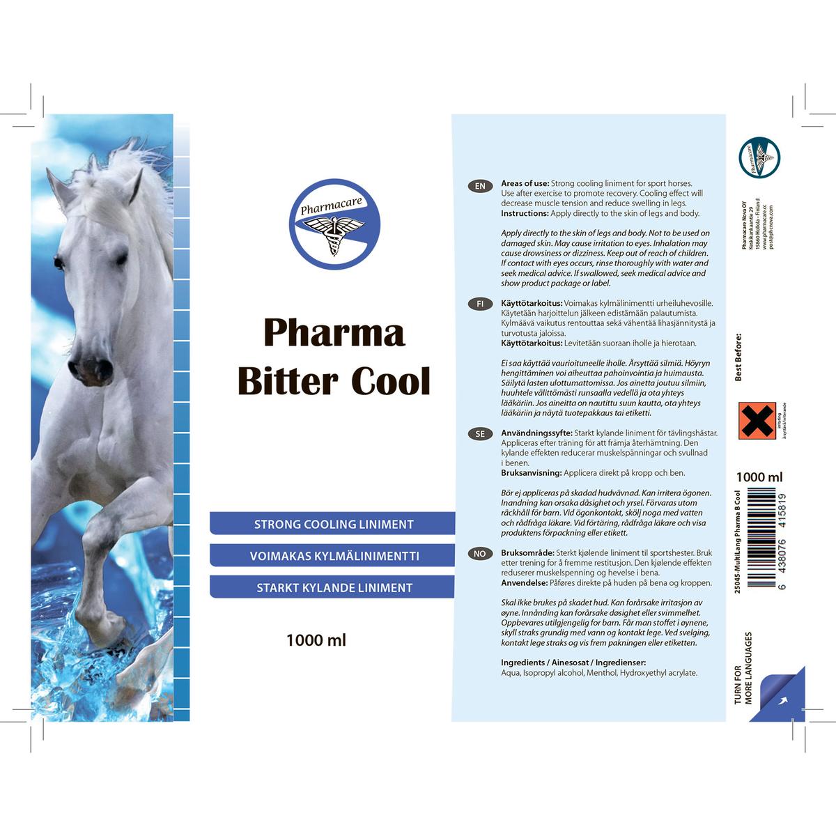 Pharma Bitter Cool 1000ml Horze
