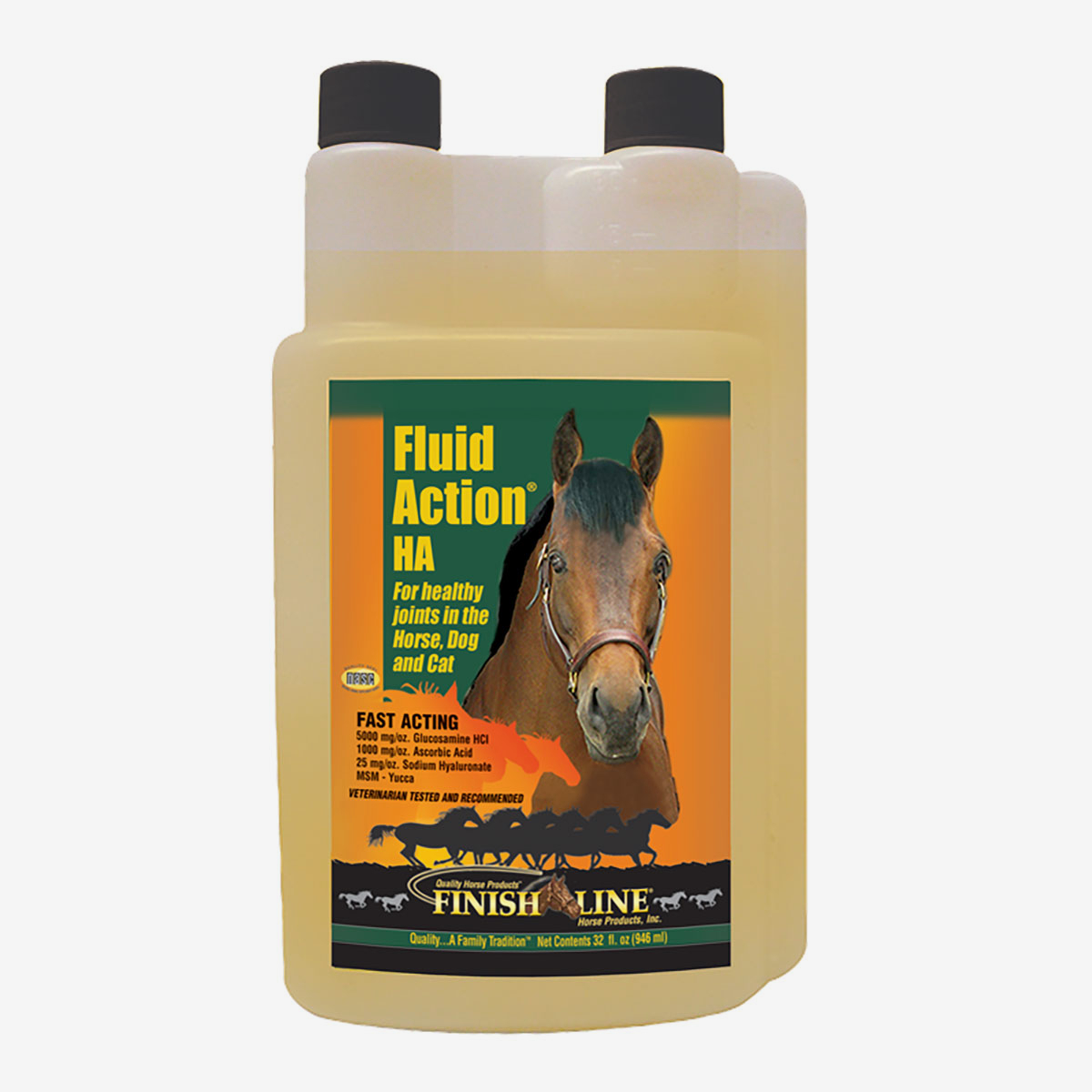 finish line fluid action ha liquid 946 ml horze. Black Bedroom Furniture Sets. Home Design Ideas