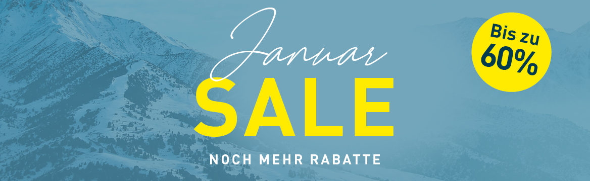 january sale discounts